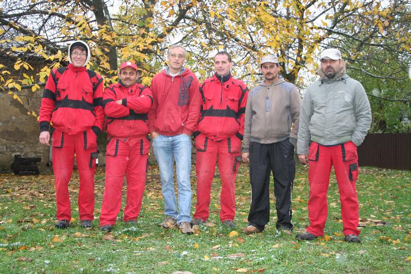 Hradný tím 2012