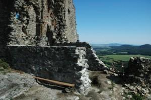 Podporné múry steny paláca