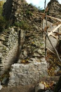 Múry severnej bašty