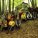 Skupina turistov (pod Garabošom)