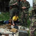 """""""Vojaci"""" z Klubu vojenskej histórie Svoboda zodpovedali množstvo otázok"""