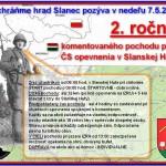Pozvánka na 2. ročník komentovaného pochodu po línii ČS opevnenia v Slanskej Hute