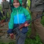 ROP - 2. ročník komentovaného pochodu - prehliadka vojenskej techniky zaujala samozrejme všetky deti