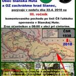 Vojenské bunkre – 3. ročník komentovaného pochodu po línii ČS opevnenia v Slanskej Hute