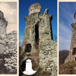 Hradná veža v rokoch 1935, 2012 a 2017