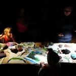 Maľovanie aj za tmy