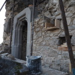 osadený portál 2. nadzemného podlažia - II