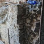 portál 3. nadzemného podlažia – prípravné práce pre klenbu