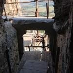 portál 3. nadzemného podlažia – pred uzavretím